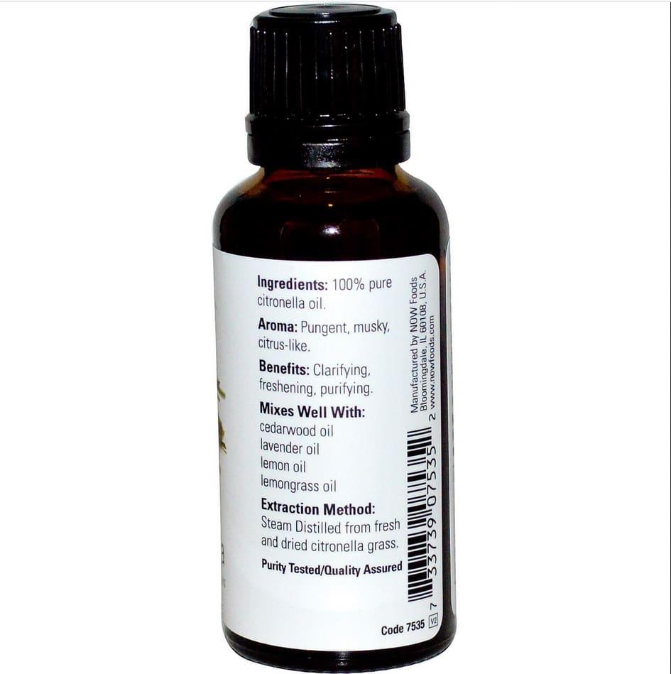 Now Foods-Citronella Essential Oils, 30ml